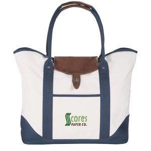 Cutter & Buck Legacy Cotton Boat Tote - Embroidered Main Image
