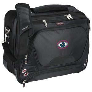 elleven Checkpoint-Friendly Wheeled Laptop Case - Embroidered Main Image
