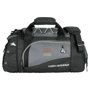 "High Sierra 21"" Deluxe Sport Duffel - Embroidered Main Image"