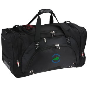 "elleven 26"" Wheeled Duffel - Embroidered Main Image"