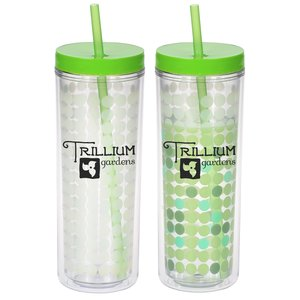 Ice Chameleon Tumbler with Straw - 16 oz. Main Image
