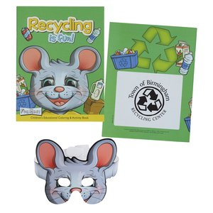 Coloring Book with Mask - Recycling is Fun Main Image