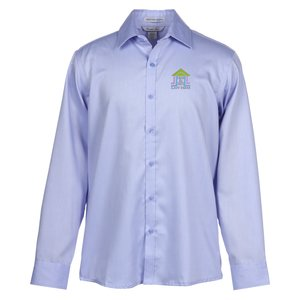 Boulevard Wrinkle Free Cotton Dobby Shirt - Men's Main Image