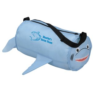 Paws and Claws Barrel Duffel Bag - Shark Main Image