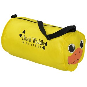 Paws and Claws Barrel Duffel Bag - Duck Main Image