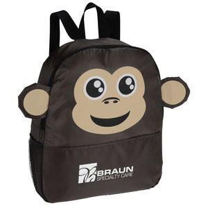 Paws and Claws Backpack - Monkey Main Image
