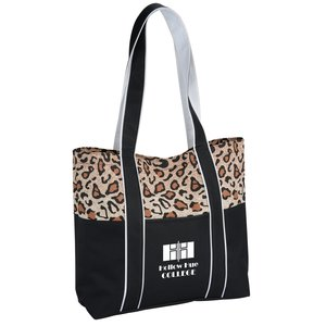 West Hampton Tote - Leopard Main Image