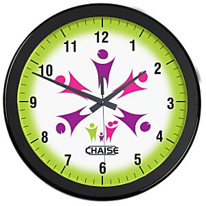 "Full Color Wall Clock - 14"" - Numbers Main Image"