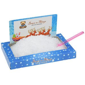 Santa Snowscape Box Main Image