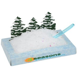Pine Trees Snowscape Box Main Image