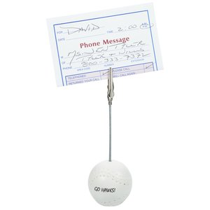 Baseball Memo Holder - Closeout Main Image