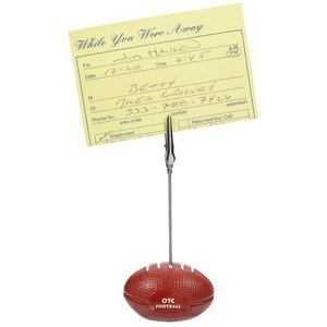 Football Memo Holder - Closeout Main Image