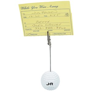 Golf Ball Memo Holder - Closeout