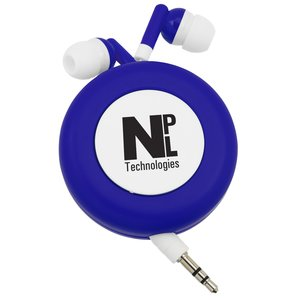 Push Button Retractable Ear Buds Main Image