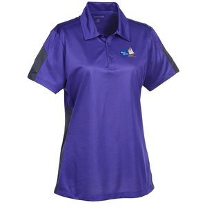 Active Colorblock Performance Polo - Ladies' Main Image
