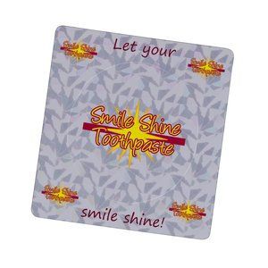 "Prismatic Photo Frame Magnet - 3-1/2"" x 3-3/4"" Main Image"