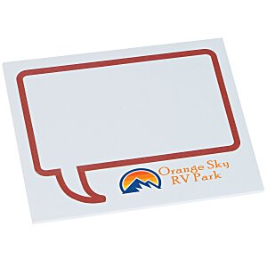 "Bic Sticky Note - Designer - 3"" x 4"" - Message Bubble - 25 Sheet Main Image"