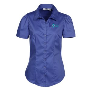 Signature V-Neck Short Sleeve Blouse - Ladies' Main Image
