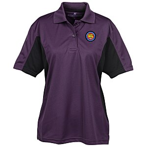 Stain Release Colorblock Performance Polo - Ladies' Main Image