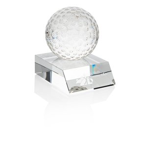 "Crystal Golf Ball Award - 4"" Main Image"