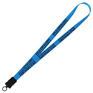 "Smooth Nylon Lanyard - 3/4"" - 36"" - Snap Buckle Release Main Image"
