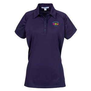 Fine Stripe Performance Polo - Ladies' Main Image