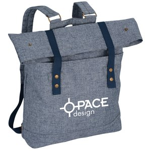 Chambray Rucksack Backpack Main Image