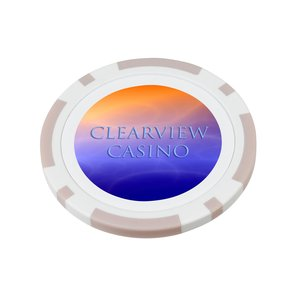 Poker Chip Ball Marker - Closeout Color Main Image