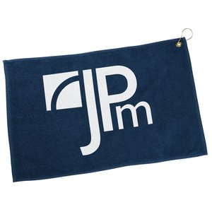 Golf Towel with Hook and Grommet - Closeout Main Image