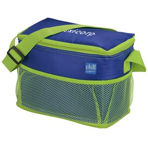Chill by Flexi-Freeze 6-Can Cooler with Mesh Pockets Main Image