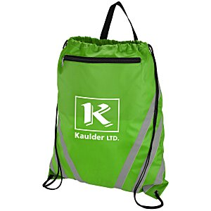 Twilight Reflective Drawstring Sportpack Main Image
