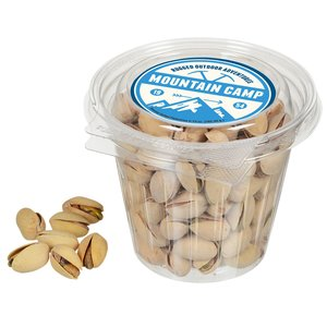 Round Snack Pack - Roasted Pistachios Main Image