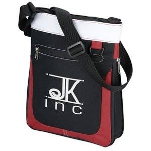 Expandable Mini Messenger Tote Main Image