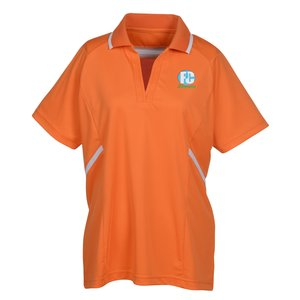 Eperformance Interlock Accent Polo - Ladies' Main Image