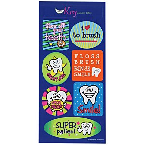 Super Kid Sticker Sheet - Tooth Time Main Image