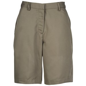 Microfiber Pleated Transit Shorts - Ladies' Main Image