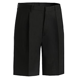 Poly/Cotton Pleated Front Transit Shorts - Men's Main Image