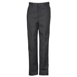 Poly/Cotton Flat Front Transit Pants - Men's Main Image