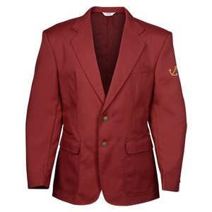 Polyester Single Breasted Suit Coat - Men's