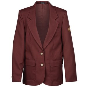 Polyester Single Breasted Suit Coat - Ladies' Main Image