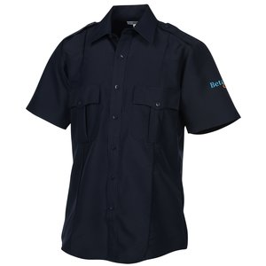 Polyester Short Sleeve Security Shirt Main Image