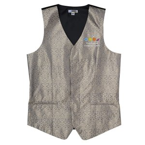 Paisley Brocade Vest - Men's Main Image