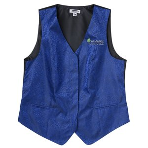 Paisley Brocade Vest - Ladies' Main Image