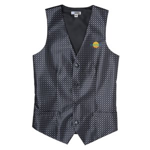 Grid Brocade Vest - Men's Main Image