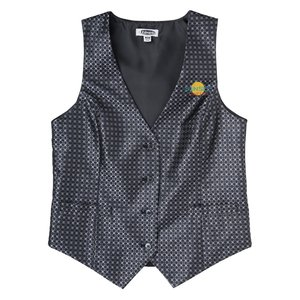 Grid Brocade Vest - Ladies' Main Image