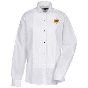 Pintuck Bib Tuxedo Shirt - Ladies' Main Image