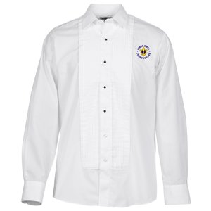 Pleated Bib Tuxedo Shirt - Men's Main Image