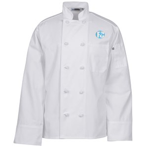 Ten Knot Button Chef Coat Main Image