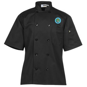 Ten Button Short Sleeve Chef Coat Main Image