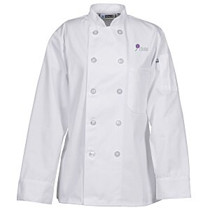 Ten Button Chef Coat - Ladies' Main Image